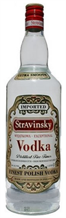 Stravinsky Vodka 750ml - Case of 12